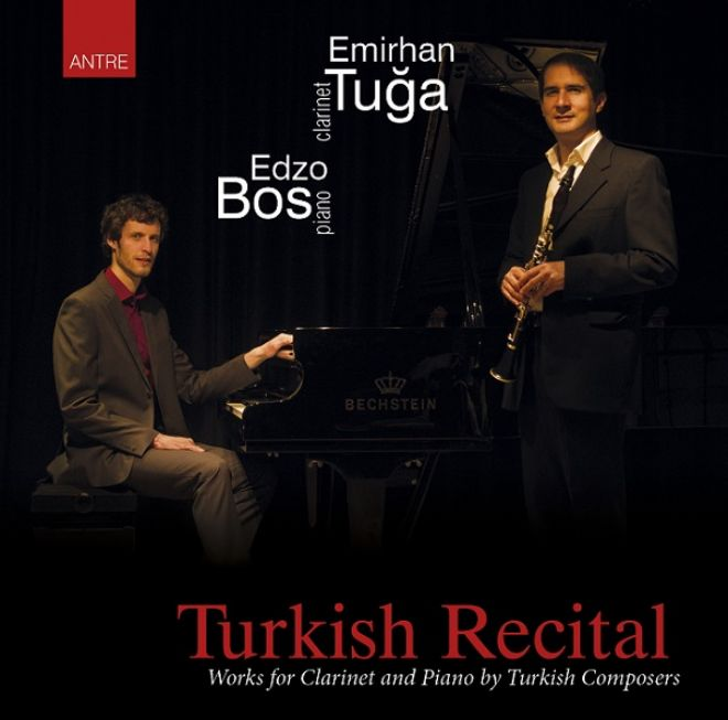 "Emirhan Tuğa'dan ""Turkish Recital"" CD'si..."